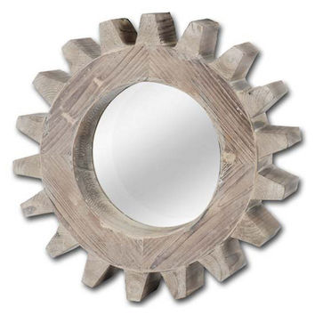 Mirrors, Brookline Accent Mirror, Distressed Wood, Wall Mirrors