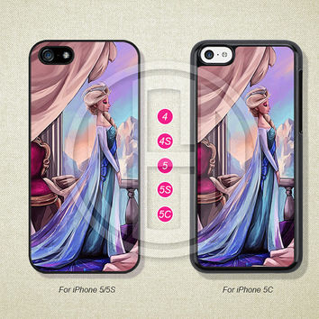 Disney Princess, Frozen, Phone Cases, iPhone 5S Case, iPhone 5 Case, iPhone 5C Case, iPhone 4 case, iPhone 4S case, Case--L51206
