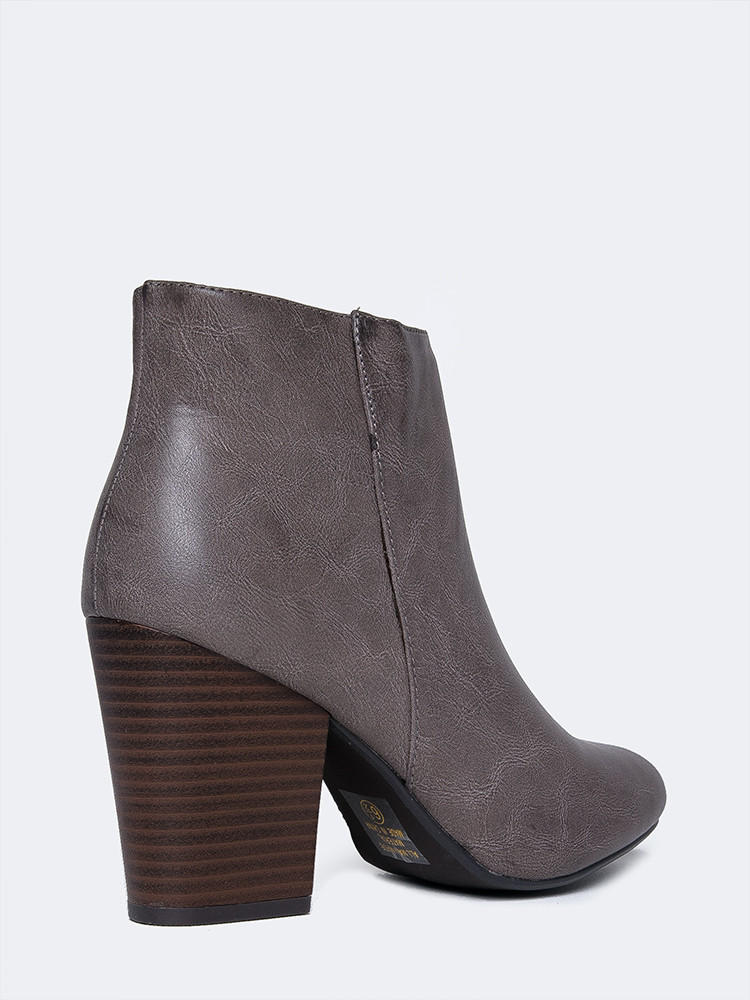 12791556af82 High Heel Ankle Bootie from ZOOSHOO