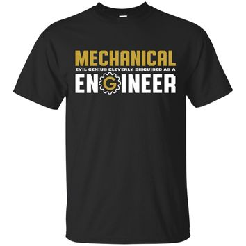 Funny Mechanical Engineer T-shirt for Engineering Major Geek