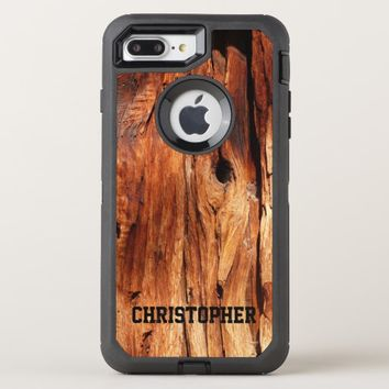 Faux Weather Wood OtterBox Defender iPhone 7 Plus