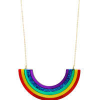 Extra Large Rainbow Necklace