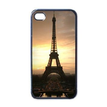 Apple iPhone Case - France Paris Eiffel Tower Sunset - iPhone 4 Case | Merchanstore - Accessories on ArtFire