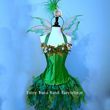 Adult Fairy Costume   Woodland Faerie  adult by FairyNanaLand
