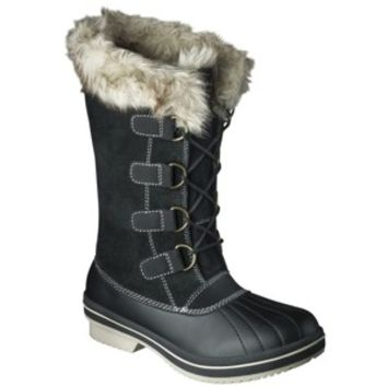 Women's Merona® Neida Winter Boots - Black