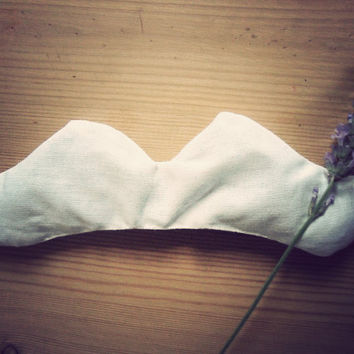 Moustache lavender bag by MrTeacup on Etsy