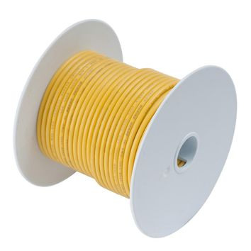 Ancor Yellow 4 AWG Tinned Copper Battery Cable - 50' [113905]