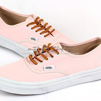 Vans Authentic Slim (Brushed Twill) Soft Pink Lifestyle Casual Shoes VN-0QEV7GS