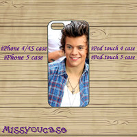 ipod 4 case,ipod 5 case,iphone 4 case,iphone 4s case,cute iphone 4 case,iphone 5 case,cute iphone 5 case,Harry Styles,cool iphone 5 case.