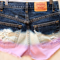 The Pink Ombre Shorts