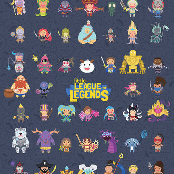 Little League of Legends Poster