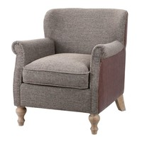 Madison Park Luther Accent Chair (Grey)