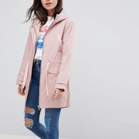 ASOS DESIGN summer parka with jersey lining at asos.com