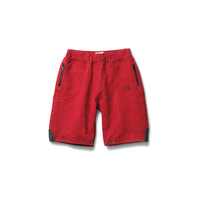 Un-Polo Tech Sweatshorts in Heather Red - SPRING 2015 DELIVERY 2 - SHOP BY COLLECTION