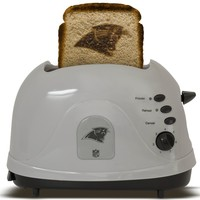 Pangea Brands Carolina Panthers Toaster  Gray