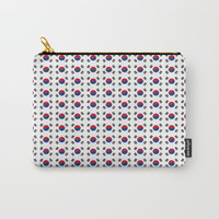 flag of south korea-korea,asia, 서울특별시,부산광역시, 한국,seoul Carry-All Pouch by oldking
