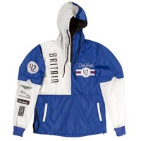 ONETOW Club Foreign Britain Two Tone Windbreaker White / Blue