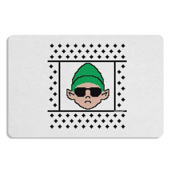 Cool Elf Christmas Sweater Placemat Set of 4 Placemats