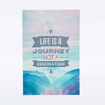 Journey Canvas Wall Art - Urban Outfitters