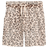 Leopard-print Shorts - from H&M