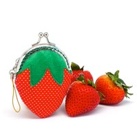 Supermarket: Delicious strawberry mini coin purse from Misala Handmade Bags & Purses