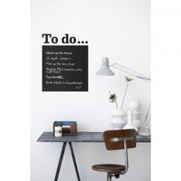 ferm LIVING To Do WallSticker - 2065-01 - Wall Decals & Stickers - Wall Art & Coverings - Decor