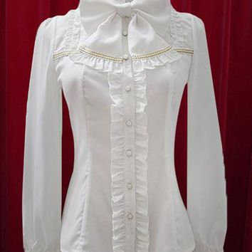 Edwardian Replica Blouse in 4 Colors