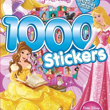 Disney Princess 1000!! Stickers pack activity book girls 4-8age play fun gift