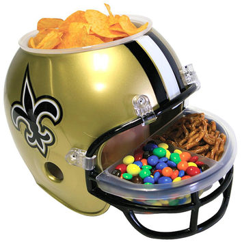 New Orleans Saints - Logo Snack Helmet