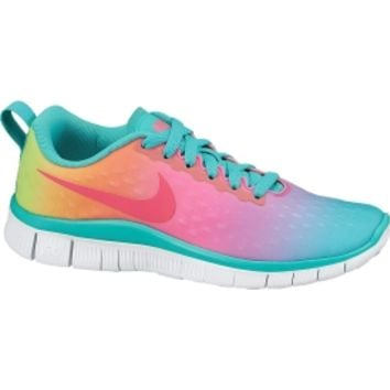 Nike Girls' Grade School Free Express Running Shoe - Rainbow | DICK'S Sporting Goods