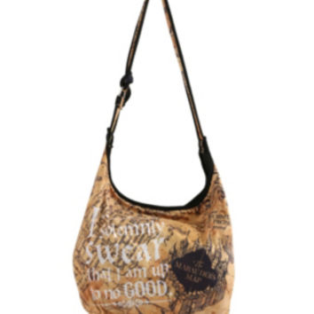 Harry Potter Solemnly Swear Hobo Bag