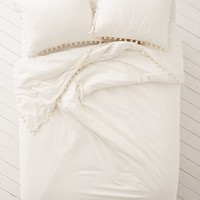 Magical Thinking Pom-Fringe Duvet Cover | Urban Outfitters