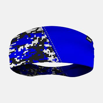 Arsenal Digi Camo Blue Black White Headband