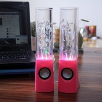 Heartybay Music Fountain Mini Amplifier Dancing Water Speakers I-station7 Apple Speakers:Amazon:MP3 Players & Accessories