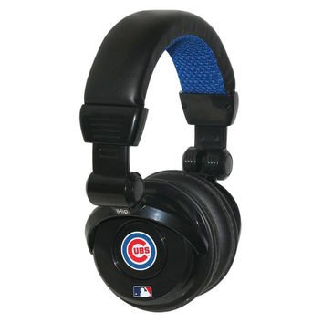Ihip MLB Pro Dj Headphones With Microphone - Chicago Cubs