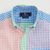 Gingham Tucker Party Shirt