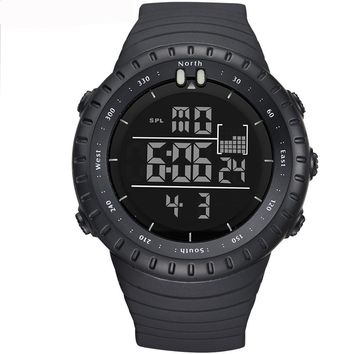 Men's Outdoor Multifunction Sports  Digital Wrist Watches with LED Light