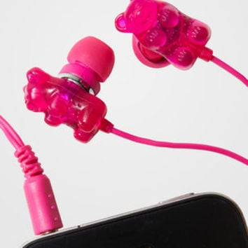 Scented Gummi Bear Earbuds | Gummy Bear Earbuds | fredflare.com