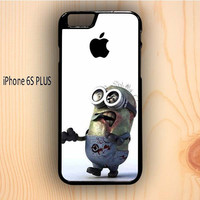 Dream colorful Minion Zombie Despicable Me iPhone 6S Plus Case