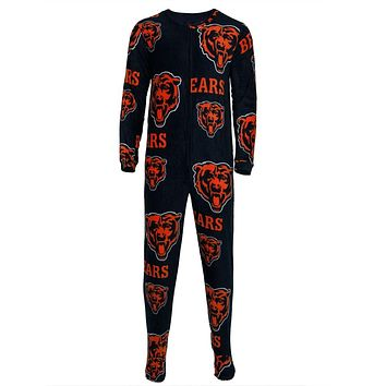 Chicago Bears - Logo All-Over Adult Union Suit