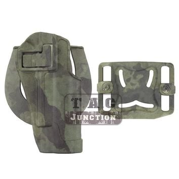 Tactical CQC Serpa Concealment Quick Right Hand Waist Paddle Belt Loop Pistol Holster Gun Case Pouch for Colt 1911 M1911