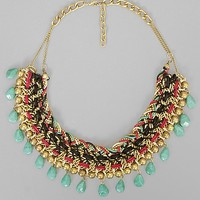 BKE Braided Chain Necklace
