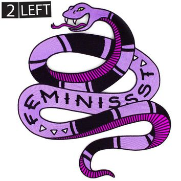 Feminissst Snake Back patch