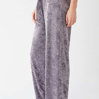 Out From Under Mila Velvet Wide Leg Pant | Urban Outfitters