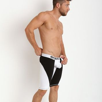 Ergowear MAX Compression Short White EKMP07B at International Jock Underwear & Swimwear