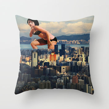 I lost my light Throw Pillow by Laura Nadeszhda