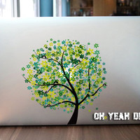Sacred tree macbook decal/Decal for Macbook Pro, Air or Ipad/Stickers/Macbook Decals/Apple Decal for Macbook Pro / Macbook Air/laptop 1325