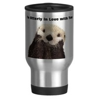 Happy Valentines Day Funny Otter