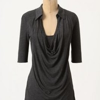 Collared Cowlneck - Anthropologie.com
