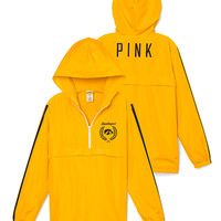 University of Iowa Half-Zip Windbreaker